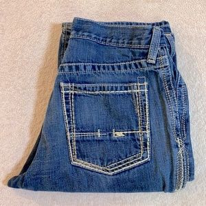 Ariat Denim Med Wash M4 Low Rise Boot Cut Jeans 32